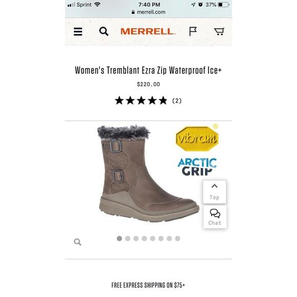 70858341a2 Merrell W Tremblant Ezra Zip Waterproof Ice+ NWT